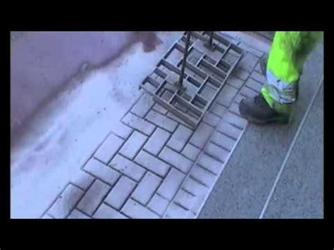 praegepflaster pflasteroptik ohne pflastersteine youtube