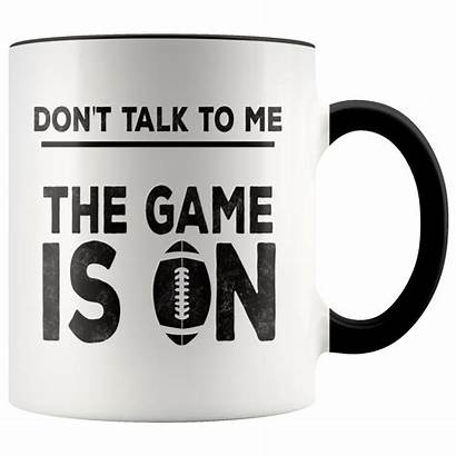 Funny Coffee Football Mug Mugs Fans Sarcasm