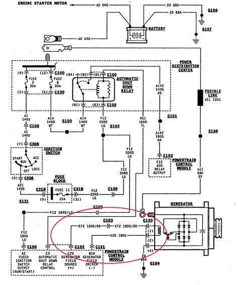 wiring diagram 1997 jeep wrangler wiring free engine