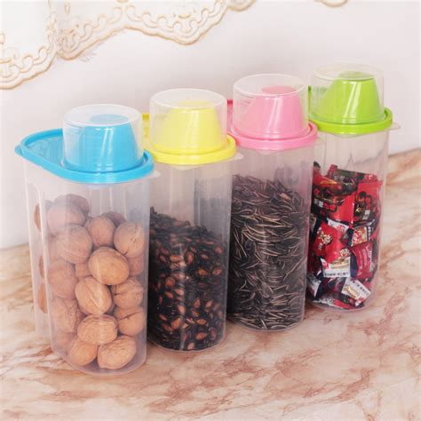 clear plastic kitchen canisters 4 pc set kitchen plastic storage canisters large plastic