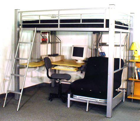 queen bunk bed with desk full size studio loft bed 4037 ml queen size