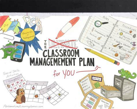 classroom management plan  elementary school teachers