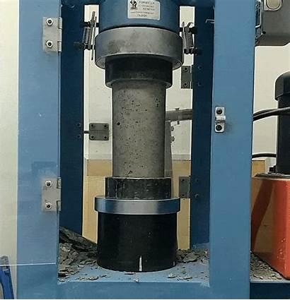 Low Concrete Cylinder Break Breaks Steps Never