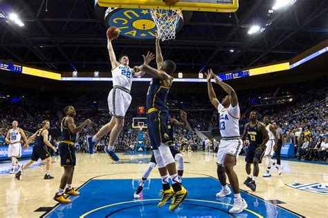 ucla mens basketball leads cal    halftime daily bruin