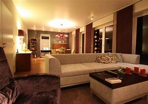 Wohnzimmer Gemütlich Gestalten : wohnzimmer gestalten mit modernem kamin raumax ~ Lizthompson.info Haus und Dekorationen