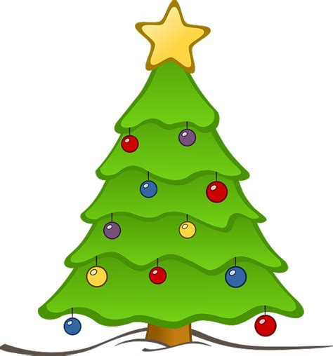 free to use public domain christmas tree clip art page 4