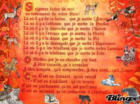 priere de st francois picture 119786817 blingee