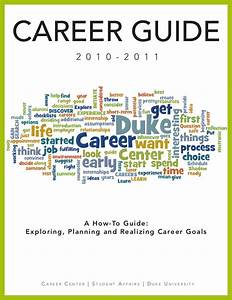 Duke Career Guide