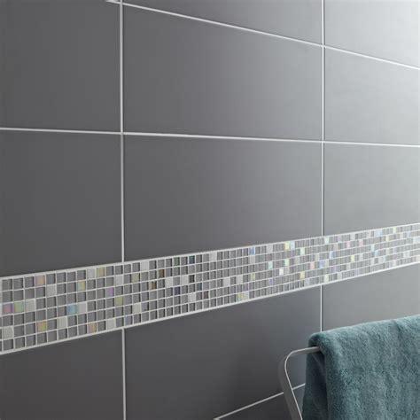 faience cuisine grise faïence mur gris galet n 3 loft l 20 x l 50 2 cm leroy merlin