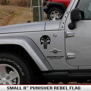 8 U0026quot  Universal Punisher Rebel Flag