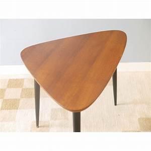 Table Basse Retro : table basse tripode vintage la maison retro ~ Teatrodelosmanantiales.com Idées de Décoration