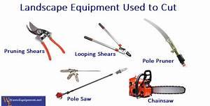 5 landscape equipment used to prune shrubs
