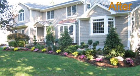 landscape ideas for front of house ideas for a slope front lawn landscaping ideas questionnaire template