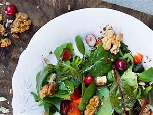Honig Senf Sauce Salat : salat mit waln ssen ziegenk se und honigsenf dressing ~ Watch28wear.com Haus und Dekorationen