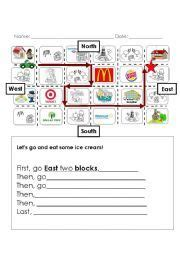 english teaching worksheets  directions