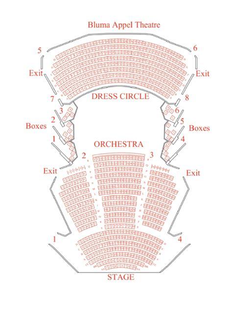 Gershwin Theatre Seating Chart