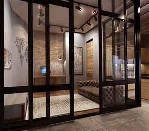 interior glass walls for homes converted industrial spaces becomes gorgeous apartments