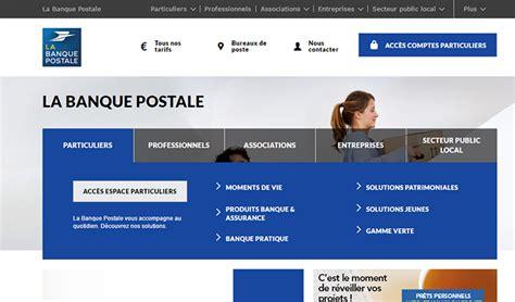 si鑒e social banque postale se connecter 224 mon compte en ligne la banque postale