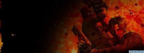 resident evil  masked evil facebook cover timeline photo