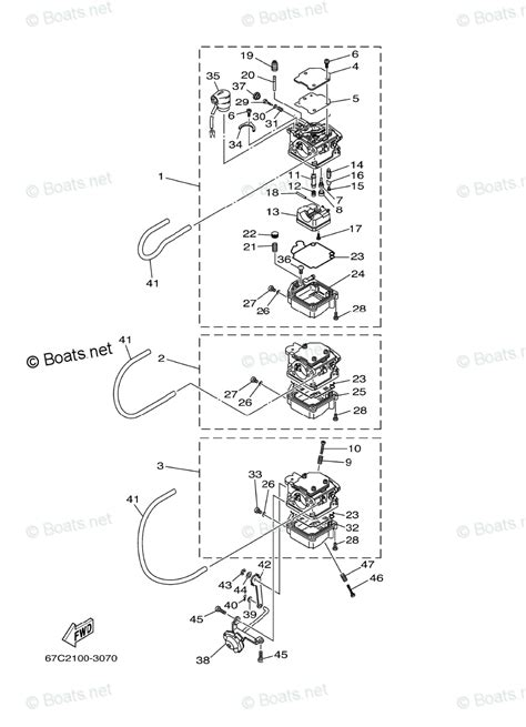 yamaha outboard parts by year 2005 oem parts diagram for carburetor boats net