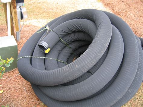 Perforated Drain Tile Pipe by Footing Drain Pipe Building America Solution Center