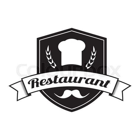 restaurant logo food service vector logo design template insignia logotype label or badge