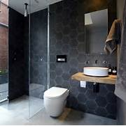 Black Hex Tiles Modern Bathroom The Block Glasshouse Bathroom Extraordinary Modern Black Master Bathroom Design Ideas Bathroom Floor Tiles White Bathroom Tile Black Damask Bathroom Tiles Black Marble Bathroom Tiles Vintage Yellow Bathroom Tile Blue Bathroom