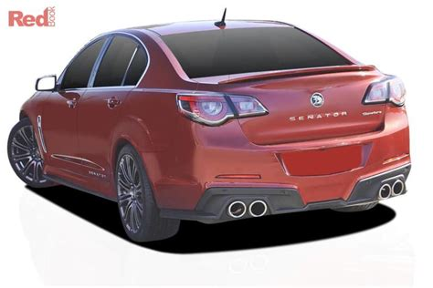 Holden Vehicles by 2016 Holden Special Vehicles Senator Car Valuation