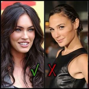 Wonder woman is Megan Fox, Noooo Gal gadot | Fans choice ...