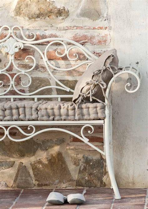 divanetto in ferro battuto divanetto provenzale ferro bianco panchine ferro giardino