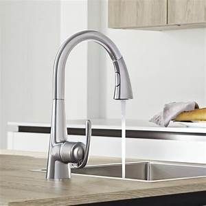 Robinet Douchette Grohe : robinets cuisine grohe avec douchette cuisine id es de ~ Edinachiropracticcenter.com Idées de Décoration