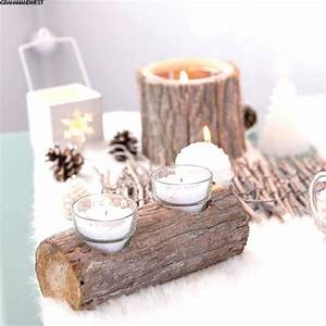 Photophore Noel Faire Soi Meme : singulier deco noel table decoration table noel faire soi meme facile ~ Farleysfitness.com Idées de Décoration