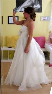 calling all brides with tulle dresses bustle weddingbee With bustle tulle wedding dress
