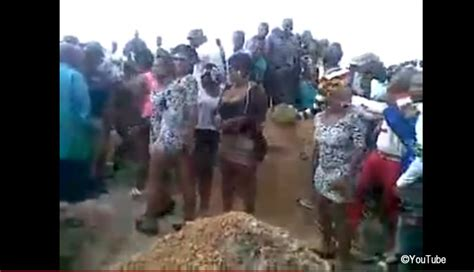 women dance provocatively   prostitutes funeral  south africa video bulawayo news