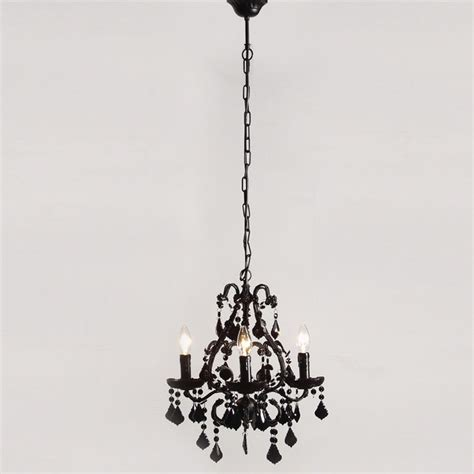 mini rexy black chandelier contemporary