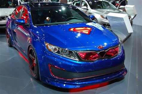 Kia Superman Optima Hybrid Show Car I By Hardrocker78 On