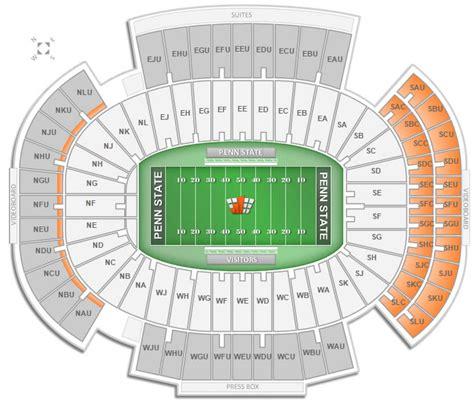 beaver stadium seating chart brokeasshome
