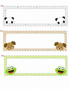 Name Cards For Kids  1