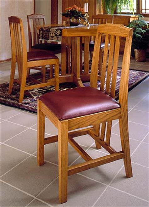 arts  crafts dining chairs woodworking plan  wood