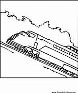 Train Coloring Pages Trains Speed Colouring Bullet Printable Books Library Clipart Clip Popular Raa Coloringhome sketch template