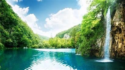 Wallpapers Summer 1080p Lake Desktop Waterfall Landscape