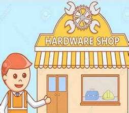 hardware store clipart