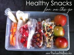 Healthy Snack Foods On the Go