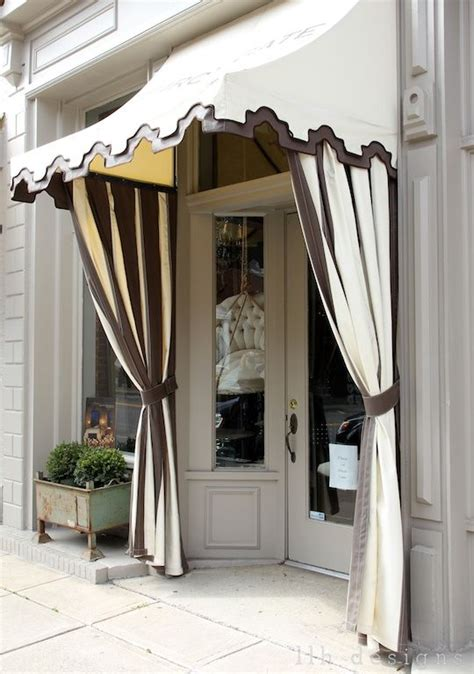 pretty storefront  awesome awning outdoor drapes cute store store fronts