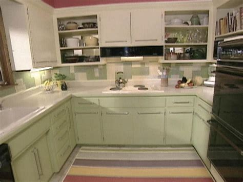 Color, Contemporary Touches Brighten All Brown Kitchen   HGTV