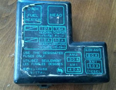 Purchase Toyota Pickup Fuse Box Under Hood Cyl