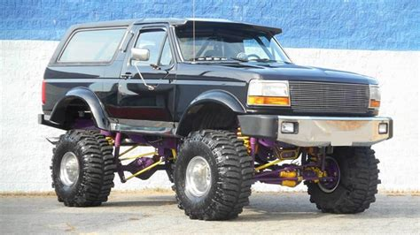 ford bronco    aggressively bad ass