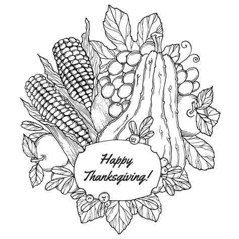 thanksgiving color pages thanksgiving coloring pages for adults coloring home