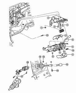 2008 Dodge Ram 1500 Knob  Tilt Lever Release   Tilt