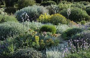 un jardin sec pour un jardin sans arrosage With amenager un jardin paysager 6 massifs fleuris et naturels pour jardin de montagne